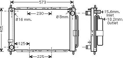 Ava Quality Cooling RTM500 - Dzesēšanas modulis autodraugiem.lv