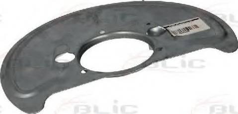 BLIC 6508-03-9557378P - Dubļu sargs, Bremžu disks autodraugiem.lv