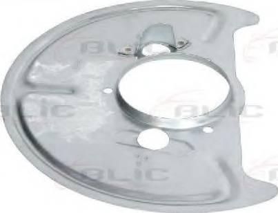 BLIC 6508-03-9557377P - Dubļu sargs, Bremžu disks autodraugiem.lv