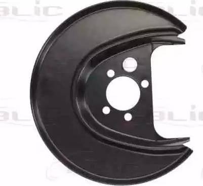 BLIC 6508-03-9501877P - Dubļu sargs, Bremžu disks autodraugiem.lv