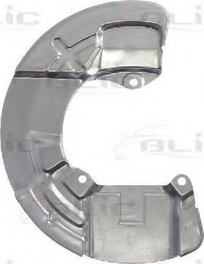 BLIC 6508-03-9047377P - Dubļu sargs, Bremžu disks autodraugiem.lv