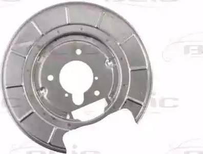 BLIC 6508-03-5536878P - Dubļu sargs, Bremžu disks autodraugiem.lv