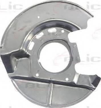 BLIC 6508-03-0054378P - Dubļu sargs, Bremžu disks autodraugiem.lv