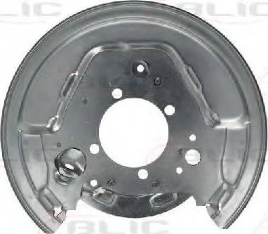 BLIC 6508-03-8161877P - Dubļu sargs, Bremžu disks autodraugiem.lv