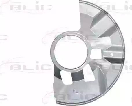 BLIC 6508-03-3451377P - Dubļu sargs, Bremžu disks autodraugiem.lv
