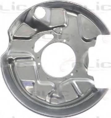 BLIC 6508-03-3526877P - Dubļu sargs, Bremžu disks autodraugiem.lv