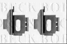 Borg & Beck BBK1348 - Piederumu komplekts, Disku bremžu uzlikas autodraugiem.lv