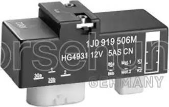 Borsehung B17825 - Relejs, Radiatora ventilatora sistēma autodraugiem.lv