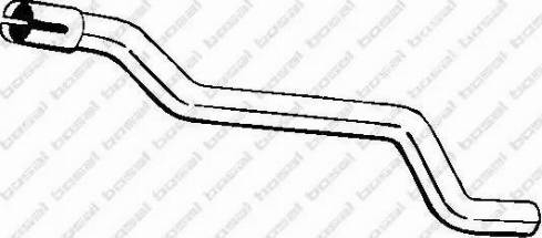 Bosal 435913 - Izplūdes caurule autodraugiem.lv