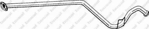 Bosal 816155 - Izplūdes caurule autodraugiem.lv