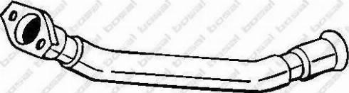 Bosal 741355 - Izplūdes caurule autodraugiem.lv