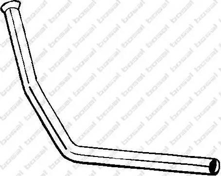 Bosal 777001 - Izplūdes caurule autodraugiem.lv