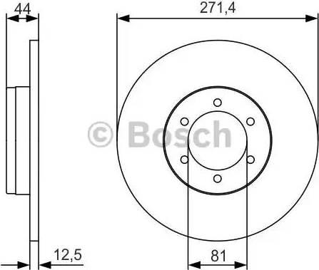 A.B.S. 15574 - Bremžu diski autodraugiem.lv