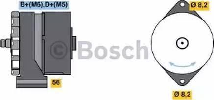 BOSCH 0 986 030 110 - Ģenerators autodraugiem.lv