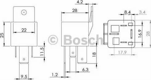BOSCH 0986AH0080 - Vadības bloks, Kvēlsveces darbības laiks autodraugiem.lv