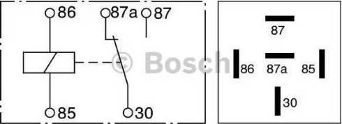 BOSCH 0 332 209 150 - Multifunkcionāls relejs autodraugiem.lv