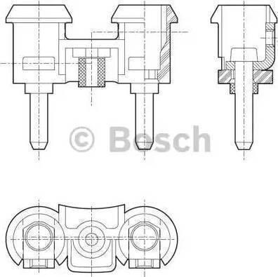 BOSCH 0 320 226 016 - Skaņas signāls autodraugiem.lv