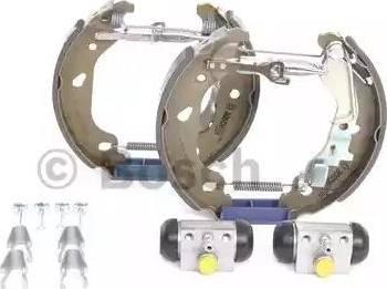 BOSCH 0 204 114 617 - Bremžu komplekts, trumuļa bremzes autodraugiem.lv