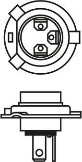 BOSCH 1987302803 - Kvēlspuldze, Miglas lukturis autodraugiem.lv