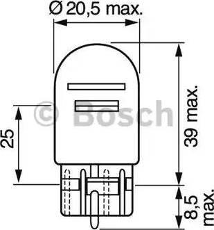 BOSCH 1987302252 - Kvēlspuldze, Stāvgaismas lukturi autodraugiem.lv