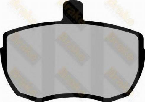 Brake Engineering PA221 - Bremžu uzliku kompl., Disku bremzes autodraugiem.lv