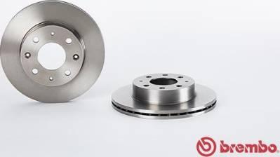 Brembo 09.3104.10 - Bremžu diski autodraugiem.lv