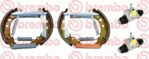 Brembo K 85 048 - Bremžu komplekts, trumuļa bremzes autodraugiem.lv