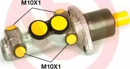 Brembo M 61 110 - Galvenais bremžu cilindrs autodraugiem.lv