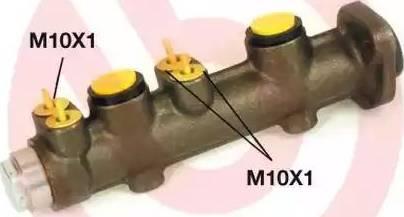 Brembo M23038 - Galvenais bremžu cilindrs autodraugiem.lv