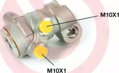 Brembo R61002 - Bremžu spēka regulators autodraugiem.lv