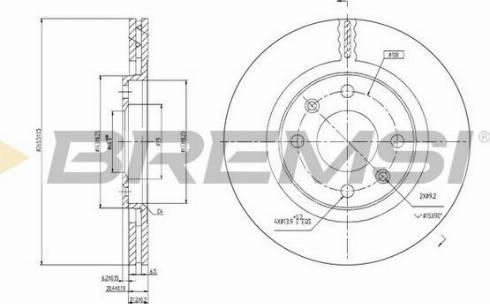 Bremsi CD6192V - Bremžu diski autodraugiem.lv