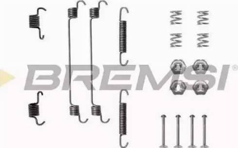 Bremsi SK0657 - Piederumu komplekts, Bremžu loki autodraugiem.lv