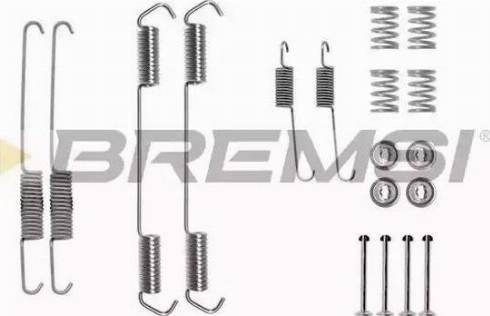 Bremsi SK0689 - Piederumu komplekts, Bremžu loki autodraugiem.lv