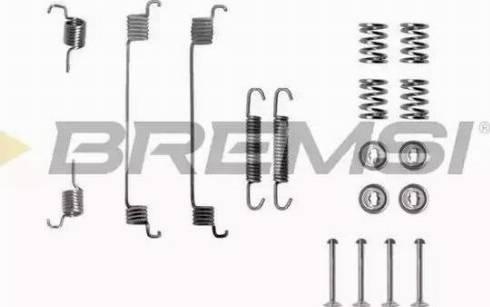 Bremsi SK0672 - Piederumu komplekts, Bremžu loki autodraugiem.lv
