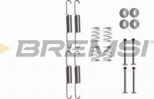 Bremsi SK0880 - Piederumu komplekts, Bremžu loki autodraugiem.lv