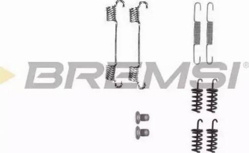 Bremsi SK0874 - Piederumu komplekts, Bremžu loki autodraugiem.lv