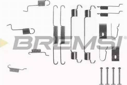 Bremsi SK0742 - Piederumu komplekts, Bremžu loki autodraugiem.lv