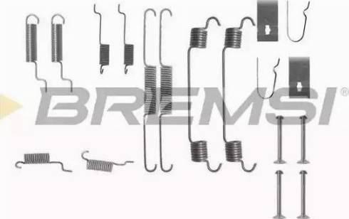Bremsi SK0767 - Piederumu komplekts, Bremžu loki autodraugiem.lv