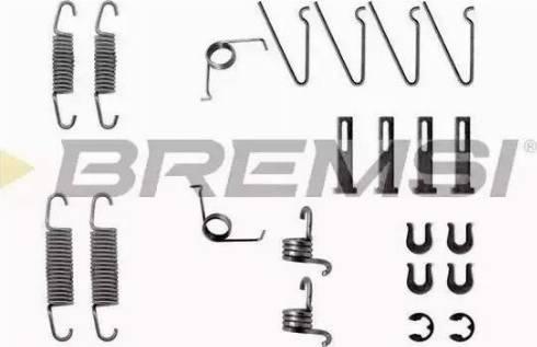 Bremsi SK0703 - Piederumu komplekts, Bremžu loki autodraugiem.lv