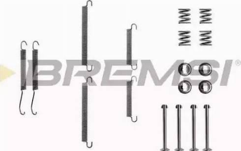 Bremsi SK0713 - Piederumu komplekts, Bremžu loki autodraugiem.lv