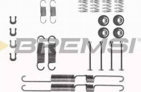 Bremsi SK0738 - Piederumu komplekts, Bremžu loki autodraugiem.lv