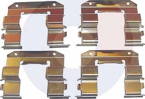 Carrab Brake Parts 1963 - Piederumu komplekts, Disku bremžu uzlikas autodraugiem.lv