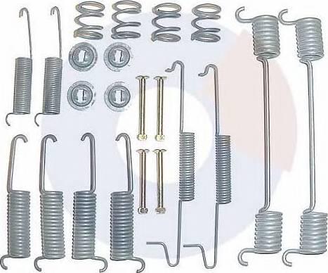 Carrab Brake Parts 3084 - Piederumu komplekts, Bremžu loki autodraugiem.lv
