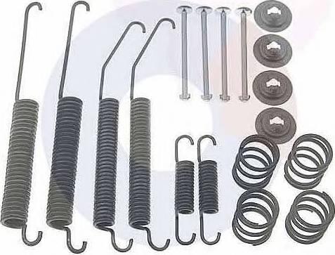 Carrab Brake Parts 3342 - Piederumu komplekts, Bremžu loki autodraugiem.lv