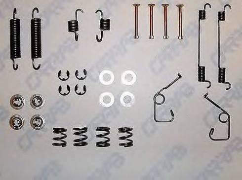 Carrab Brake Parts 3201 - Piederumu komplekts, Bremžu loki autodraugiem.lv