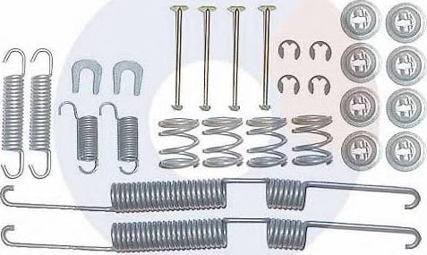 Carrab Brake Parts 3226 - Piederumu komplekts, Bremžu loki autodraugiem.lv