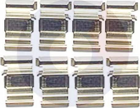 Carrab Brake Parts 2428 - Piederumu komplekts, Disku bremžu uzlikas autodraugiem.lv