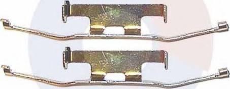Carrab Brake Parts 2194 - Piederumu komplekts, Disku bremžu uzlikas autodraugiem.lv