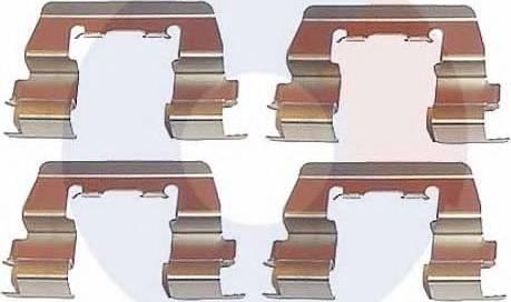Carrab Brake Parts 2143 - Piederumu komplekts, Disku bremžu uzlikas autodraugiem.lv
