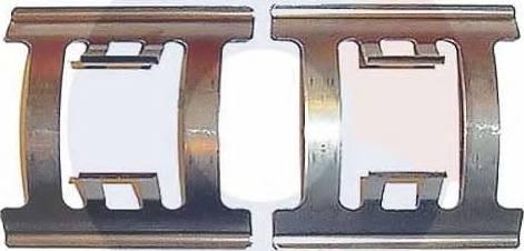 Carrab Brake Parts 2108 - Piederumu komplekts, Disku bremžu uzlikas autodraugiem.lv